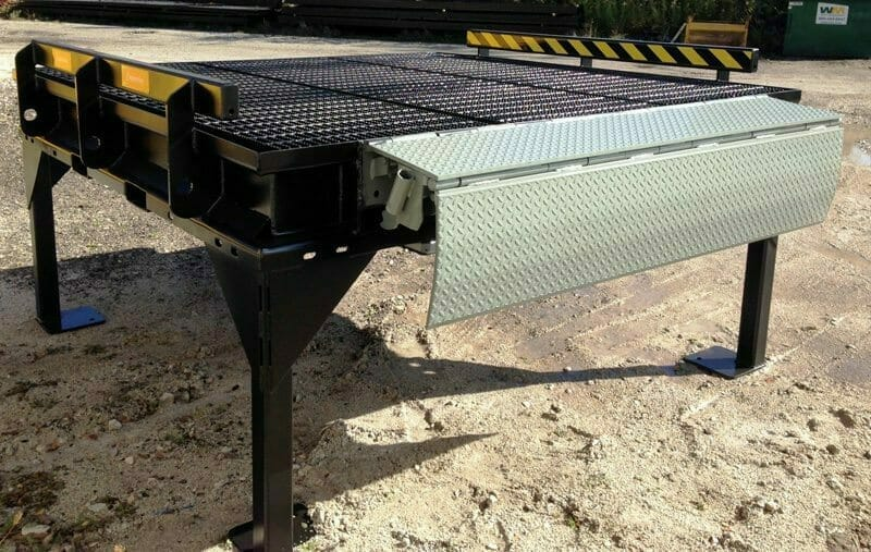 edge of dock platform durable