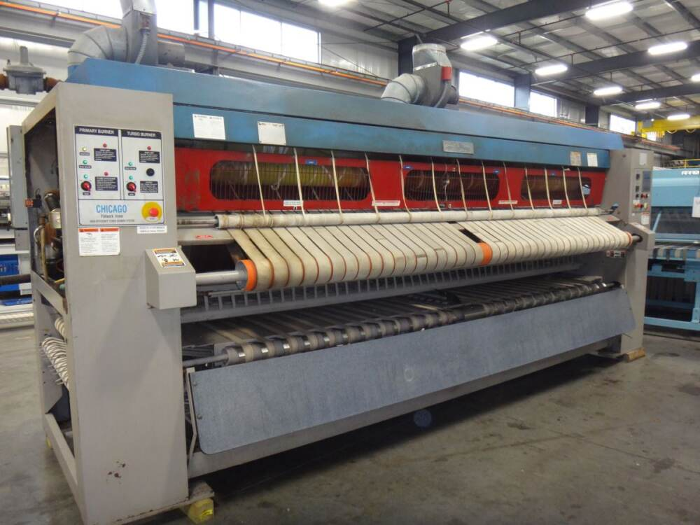 used chicago flatwork ironer for sale