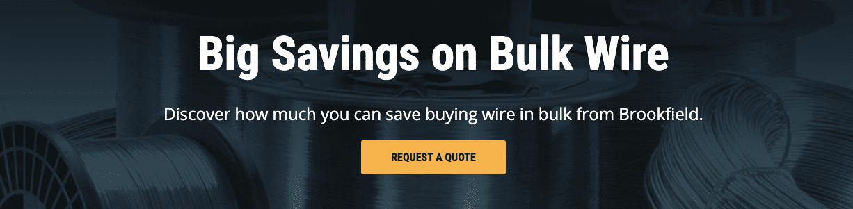 Big Savings on Bulk Wire | Request a Quote