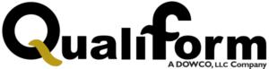 custom rubber gaskets Qualiform logo