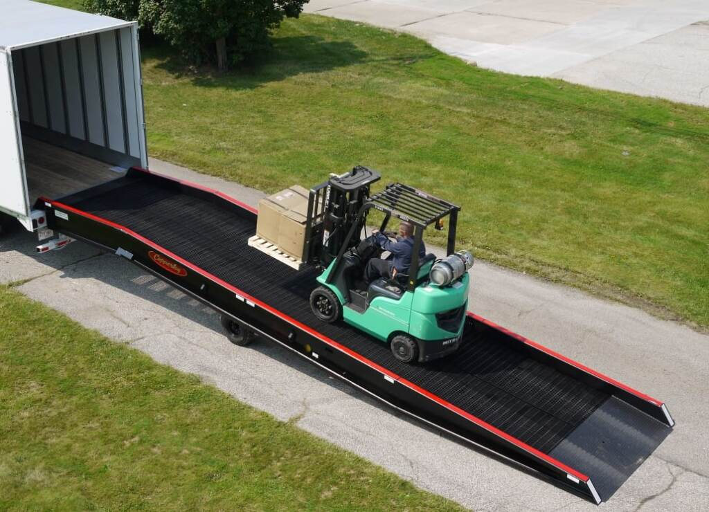 Copperloy semi truck ramp
