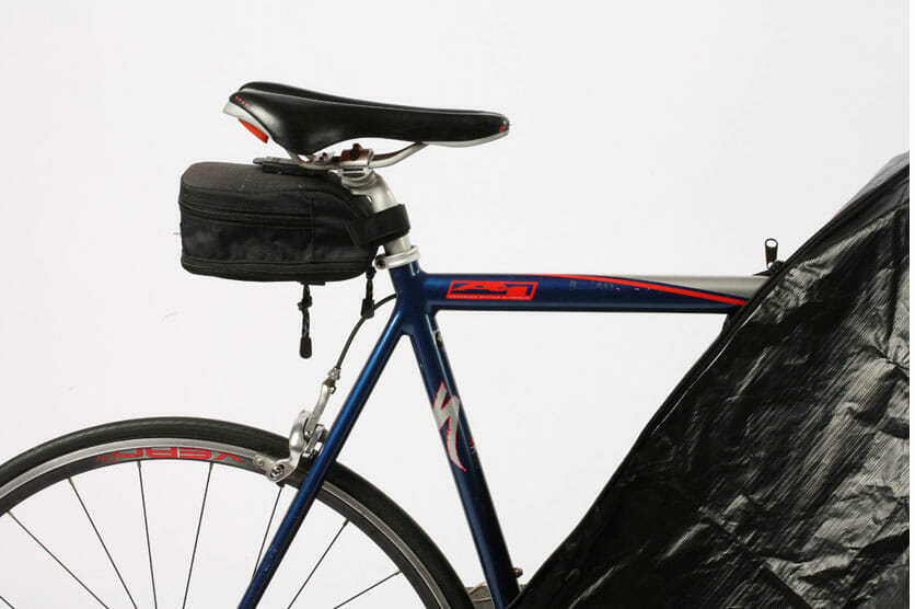 fully enclosed bicycle cover