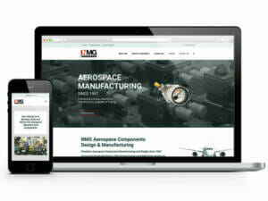 ADVAN's website for NMG Aerospace | Manufacturing SEO