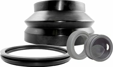 Rubber extrusion gaskets and seals from Qualiform