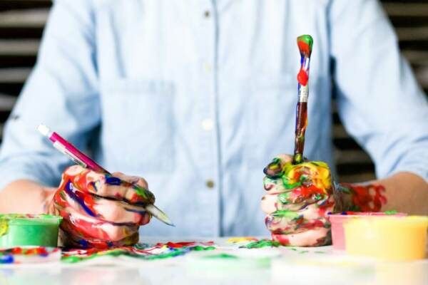 creative expression with art