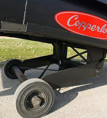 Copperloy yard ramp tires