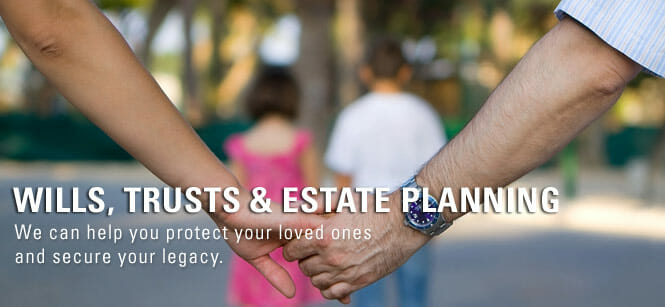 Two people holding hands | Wills, Trusts & Estate Planning | We can help you protect your loved ones and secure your legacy | Probate lawyers in Akron Ohio