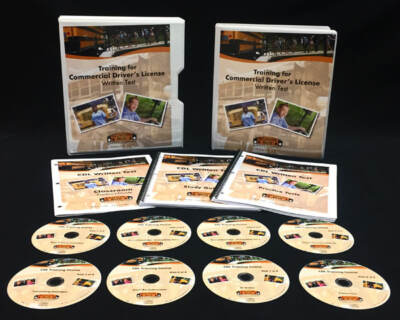 Set of DVDs for bus driver training | Online school bus driver training