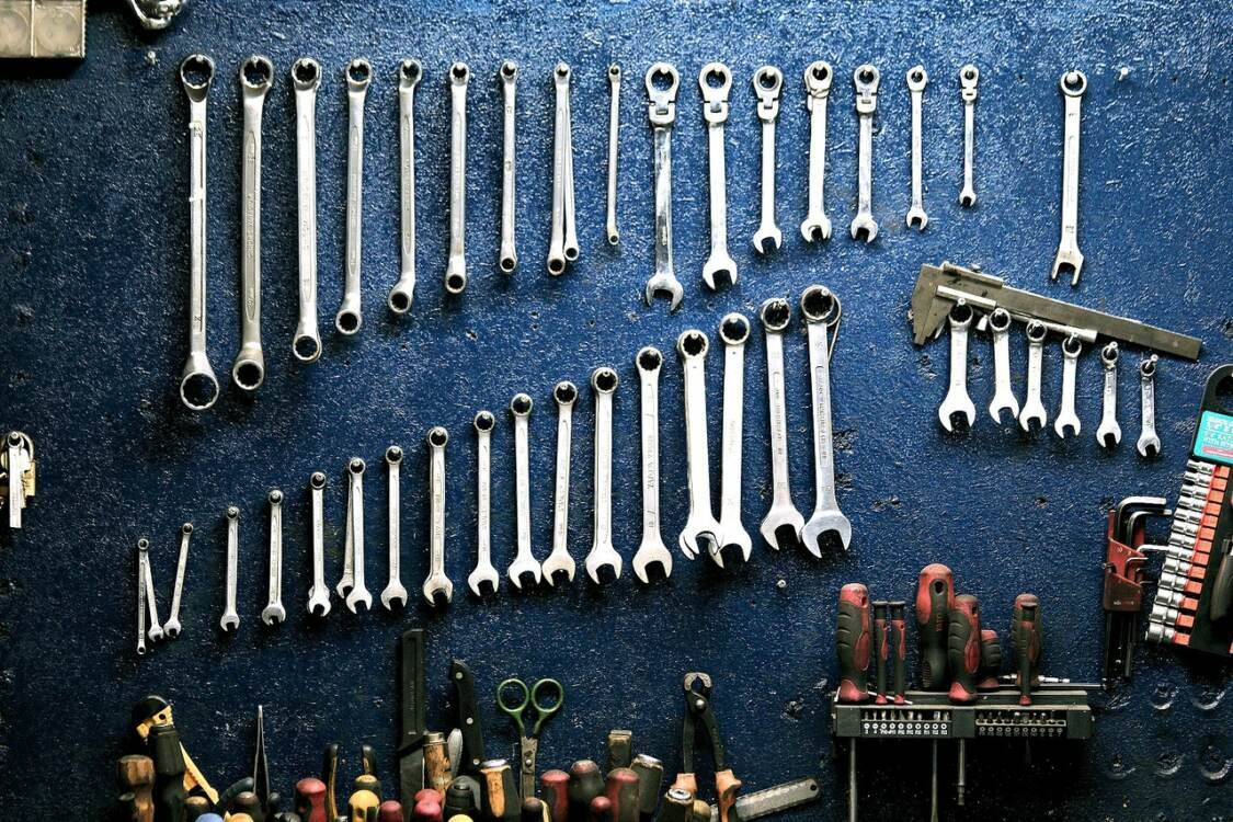 prevent wrenches from rusting