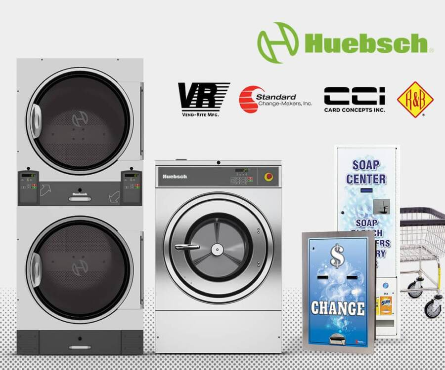Brands of commercial laundry equipment from HM Laundry