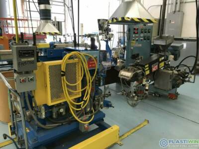 Sheet extrusion line machinery