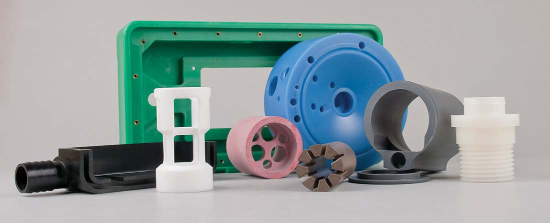 A collection of Delrin plastic parts | What is Delrin?