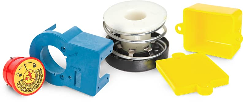 Delrin plastic parts