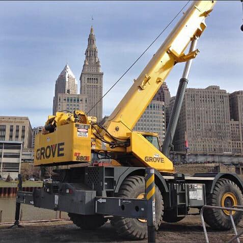 find crane rental ohio