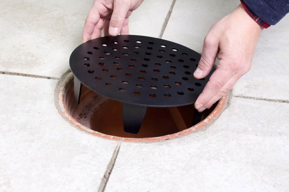 installing a drain cover | garage drain cover replacement