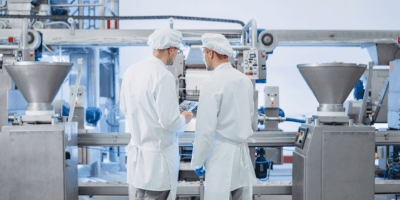 food production workers | food grade pumps